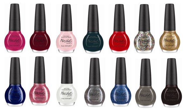 Kardashian Kolors Nicole by OPI Nail Polish Collection