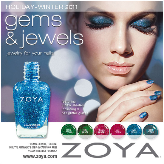 Zoya Gems & Jewels Collection for Holiday 2011