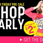 2011 Black Friday Sale at Forever 21