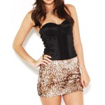 Get The Look - Sequin Mini Skirts
