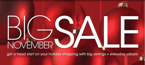 Sale Alert : Macy's Big November Sale: Extra 20% off + Free Shipping!
