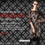 Mily's 2011 Black Friday-Cyber Monday SALE