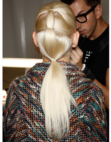 Spring and Summer 2012 Hairstyles - Ponytails 4