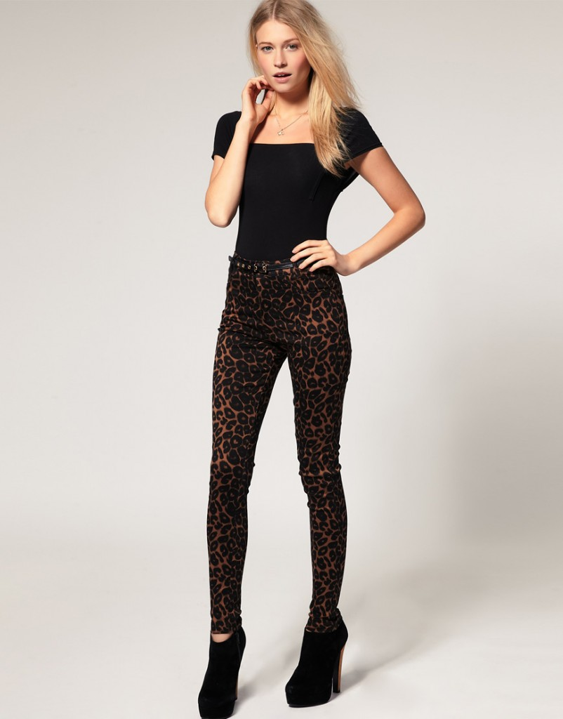 The Unique Trend of Animal Print Jeans and Leggings