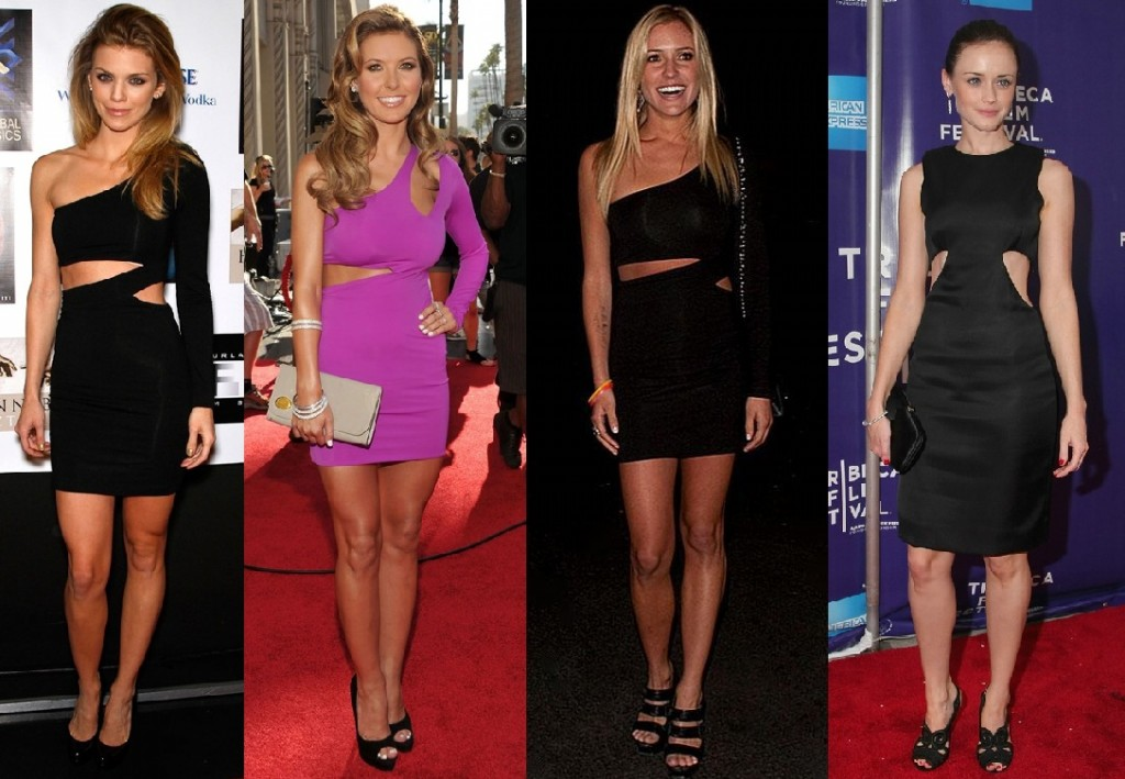 Celebrity Trend Alert - Cut-Out Dresses 9